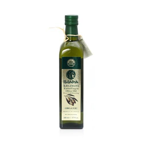Iliada USDA Organic Kalamata Extra Virgin Olive Oil 16.9oz