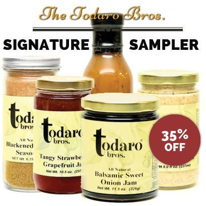 TODARO SIGNATURE SAMPLER