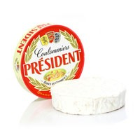 President Coulommiers cheese