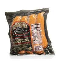 North Country Chorizo with Brandy Sausage 16 oz.