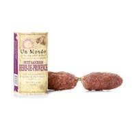 Un Mondo Petit Saucisson Dry Sausage with Herb-de-Provence 6 oz