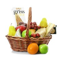 International Cheese Collection Gift Basket
