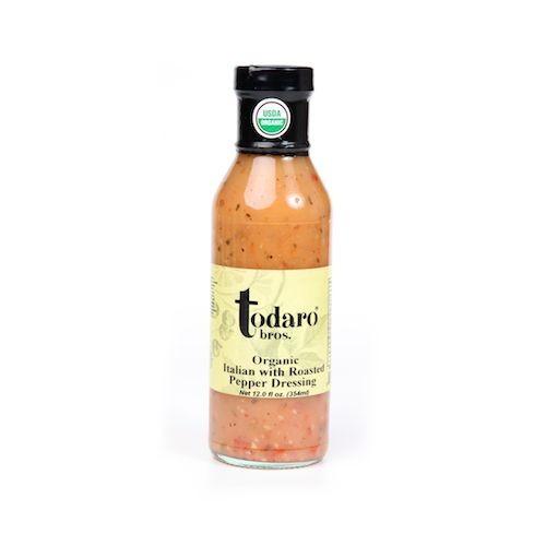 Organic Italian with Roasted Pepper Dressing (Todaro Bros.)