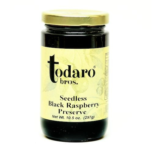 Seedless Black Raspberry Preserves (Todaro Bros.)