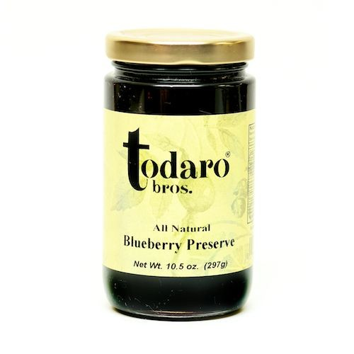 Blueberry Preserves, All-Natural (Todaro Bros.)