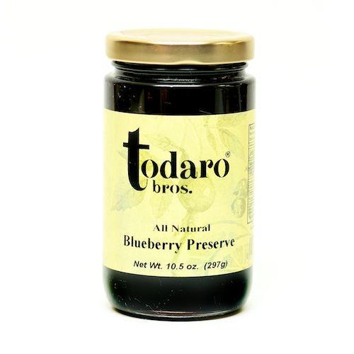 Blueberry Preserves, All-Natural (Todaro Bros.)