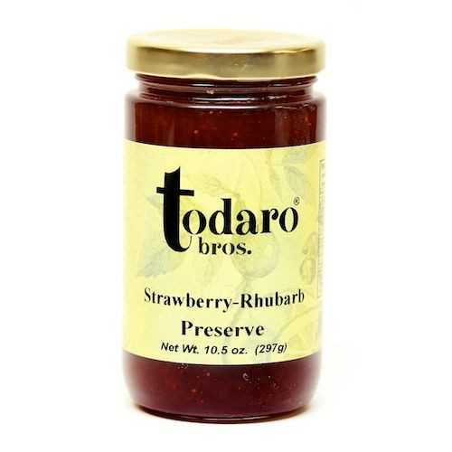 Strawberry-Rhubarb Preserves (Todaro Bros.)