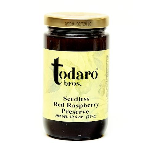 Seedless Red Raspberry Preserves (Todaro Bros.)
