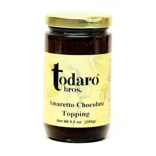 Amaretto Chocolate Topping (Todaro Bros.)
