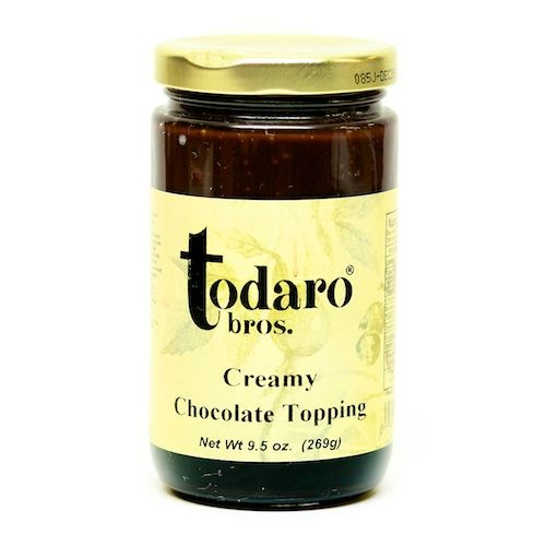 Creamy Chocolate Topping (Todaro Bros.)