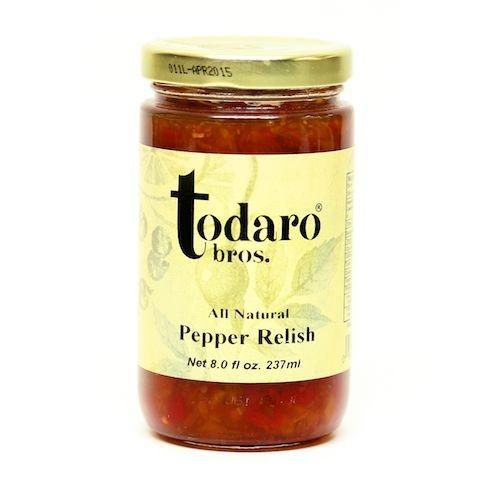 Pepper Relish, All-Natural (Todaro Bros.)