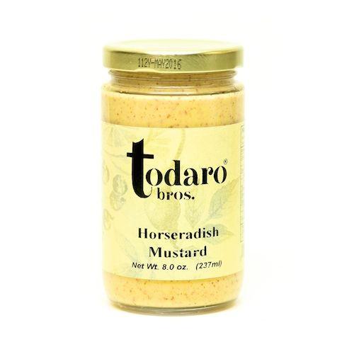 Horseradish Mustard (Todaro Bros.)