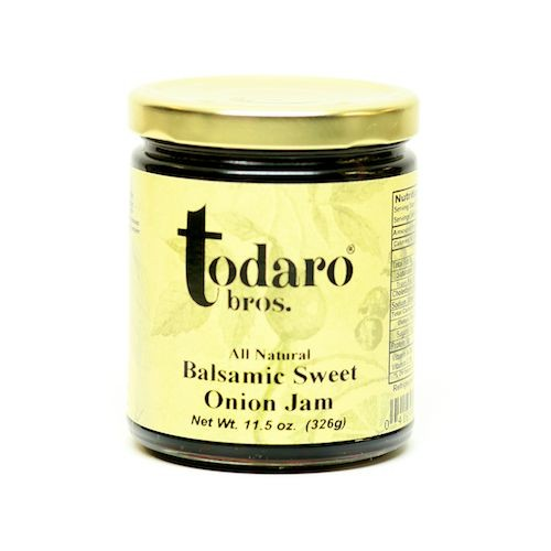 Balsamic Sweet Onion Jam, All-Natural (Todaro Bros.)