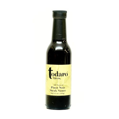 Pinot Noir Steak Sauce, All-Natural (Todaro Bros.)