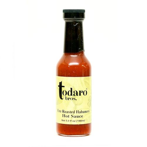 Fire Roasted Habanero Hot Sauce (Todaro Bros.)