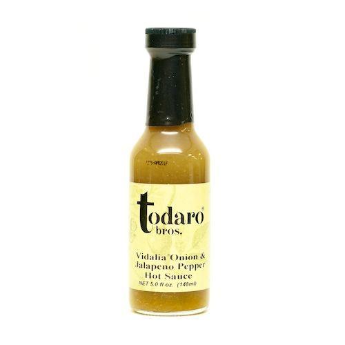 Vidalia Onion & Jalapeño Pepper Hot Sauce (Todaro Bros.)