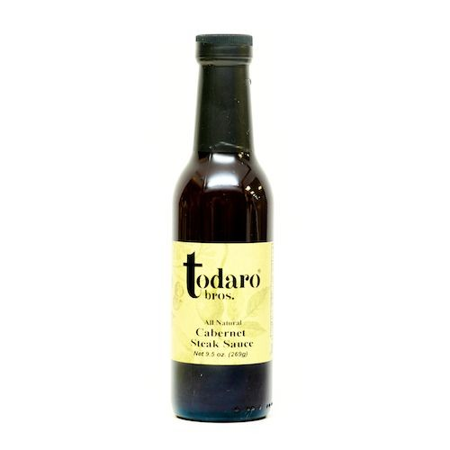 Cabernet Steak Sauce, All-Natural (Todaro Bros.)